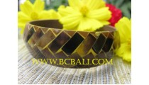 Fashion Shell Bangles Resin