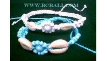 Fashion Straw Bracelets Shells