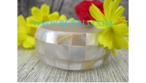 Pearl Shell Bangles Resin