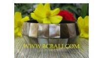 Sea Shell Resin Bangles