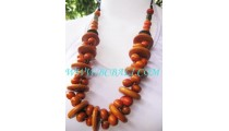 Bali Seeds Beads Wood Necklaces
