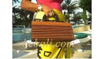 Handbags Bamboo Zebra