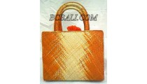 Handbags Pandanus Abstrac