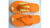 Sandal With Beads