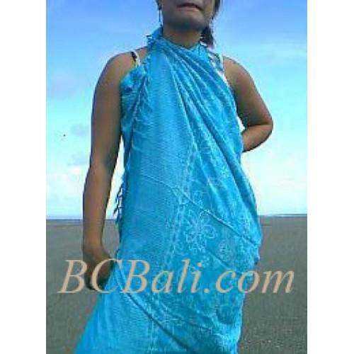 Sarongs Batik Bali Pareos Sarongs Cotton Printed Pareos