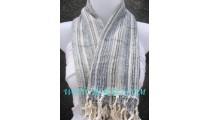 bali scarf grey long