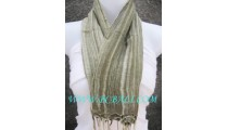 bali handmade scarf stole fashion grey color