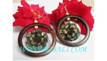 Bali Hand Crafted Woods Earring
