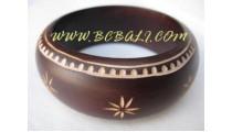 Bali Designer Wooden Bracelets