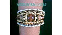Beads Woods Bracelets
