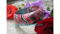 Fashion Bangle Wooden Color