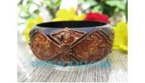 Hand Painted Bangle Wooden