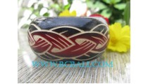 Large Bangles Carving Jewelry