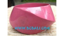 Wooden Bangle Hand Painted