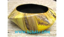 Wooden Bangle Handpainted
