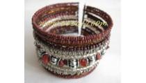 Bead Metal Bracelets