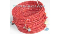 Beaded Jewelry Coral Bracelets