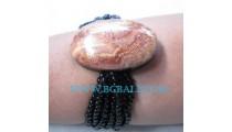 Beaded Stone Bracelets Natural