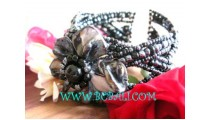 Beads Bracelets With Shell