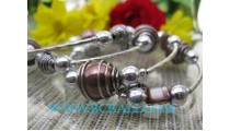 Beads Bracelets With Stainless Steel