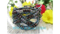 Black Beads Bracelets Fashion