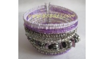 Casual Woman Beads Bracelets