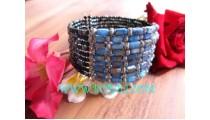 Fashionable Beads Stone Bracelet