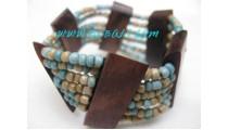 Natural Beads Bracelets