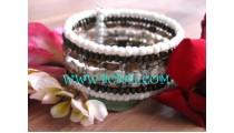 Nice Design Bracelets From Beads