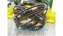 Paua Bead Color Bracelet