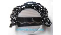 Resin Shell Bead Bracelets