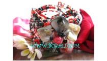 Shell Combination Beads Bracelet