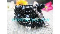 Stone Black Bracelet