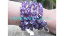 Stone Purple Bracelet