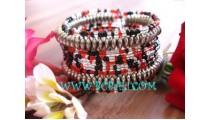 Woman Beads Bracelets Handmade