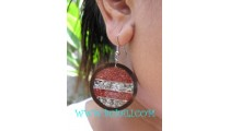 Ball Shells Stainless Earring Accessories