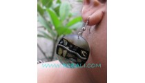 Casual Shells Paua Earring Hand Made