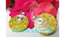 Shells Stainless Earrings
