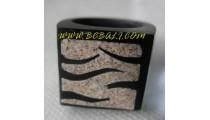 Sand With Rezin Ring