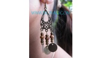 Balinese Design Earrings