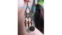 Balinese Design Earrings