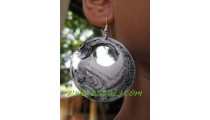 Ball Painted Earring Coco