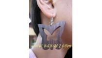 Butterfly Wooden Earrings