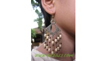 Casual Wood Earring