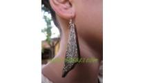 Casual Wooden Earring