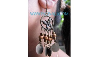 Ladies Earring Woods