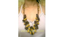 Beads Wood Necklace