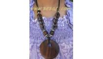 Coco Wooden Necklaces