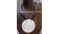 Costume Shell Necklace Pendant