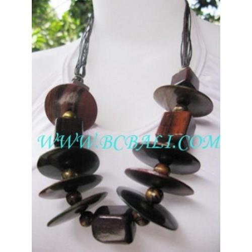 Wooden Disc Necklaces Wooden Disc Necklaces Casual